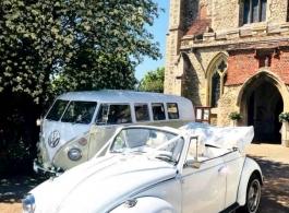 Classic VW Beetle for weddings in Braintree